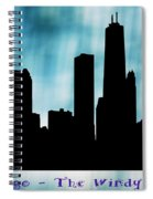 Chicago The Windy City Spiral Notebook
