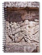 Chichen Itza Spaceman Spiral Notebook
