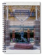 Chickasaw Ballpark - Bricktown - O K C Spiral Notebook