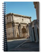 Chiesa Dei Santi Luca E Martina Spiral Notebook