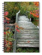 Chikanishing River Bridge Spiral Notebook