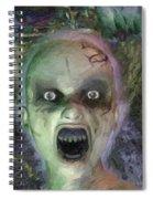 Child Ghost Spiral Notebook