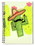 Chili Con Cacti Spiral Notebook