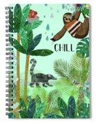 Chill Spiral Notebook