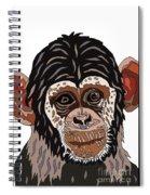 Chimp Spiral Notebook