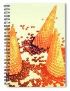 Choc Chip Silos Spiral Notebook