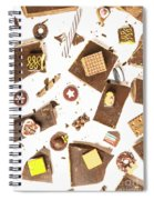 Chocolate Bar Break Spiral Notebook