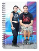 Chris And Alek All Smiles Spiral Notebook