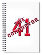 Chris The Conductor Sale Spiral Notebook