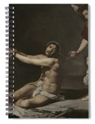 Christ After The Flagellation Contemplated By The Christian Soul Spiral Notebook