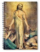 Christ Appearing To The Apostles After The Resurrection - Digital Remastered Edition Spiral Notebook
