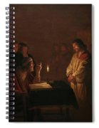 Christ Before The High Priest, 1617 Spiral Notebook
