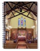 Christ Episcopal Interior Spiral Notebook