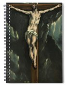 Christ On The Cross, 1610 Spiral Notebook
