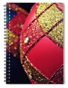 Christmas Abstract 18 Spiral Notebook