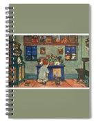 Christmas Prayer Spiral Notebook