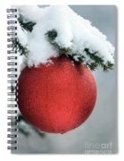 Christmas Tree, France Spiral Notebook