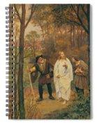Christus Und Die J Nger Von Emmaus 1914 Spiral Notebook