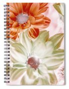 Chrysanthemum Creativity Spiral Notebook