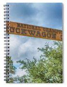 Chuckwagon Cookoff Spiral Notebook