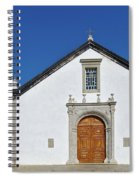Church Of Cacela Velha In Portugal Spiral Notebook