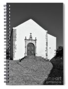 Church Of Misericordia In Monochrome Spiral Notebook