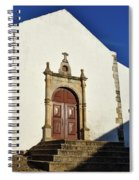 Church Of Misericordia. Portugal Spiral Notebook
