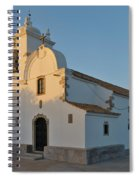 Church Of Querenca In Loule. Portugal Spiral Notebook