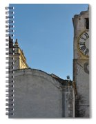 Church Of Saint Mary In Tavira. Portugal Spiral Notebook