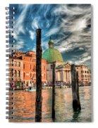 Church Of San Simeone Piccolo, Venice Spiral Notebook