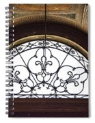Church Of St. Louis Of The French Spiral Notebook