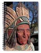Cigar Store Indian  Spiral Notebook