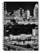 Cincinnati Covington And Ohio River Spiral Notebook