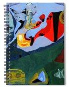 Circus At Night Spiral Notebook