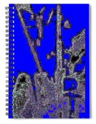 Abstract/city Lights Spiral Notebook