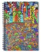 City Meets The Bay Spiral Notebook
