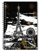 City Of Lights - Kaleidoscope Moon For Children Gone Too Soon Number 6  Spiral Notebook