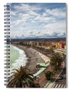 City Skyline Of Nice In France Spiral Notebook