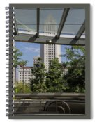 Civic Center Metro Station Los Angeles Spiral Notebook