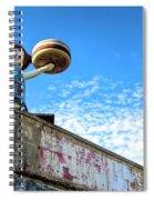 Clam Bar Theme Park Coney Island  Spiral Notebook