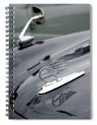 Classic Austin Car Bonnet Badge Spiral Notebook