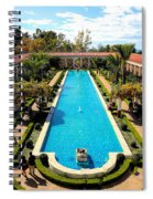 Classic Awesome J Paul Getty Architectural View Villa  Spiral Notebook