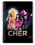 Classic Cher Trio Spiral Notebook