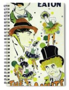 Classic Movie Poster - The Cocoanuts Spiral Notebook