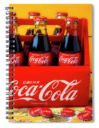 Classic Six Pack Of Cokes Spiral Notebook