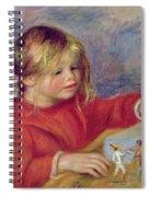 Claude Renoir At Play Spiral Notebook