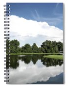 Clear Reflection Spiral Notebook