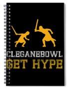 Cleganebowl  Spiral Notebook