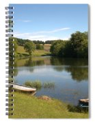 Clerklands Loch, Near Selkirk, Scottish Borders Spiral Notebook