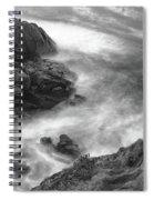 Cliffs Down Under Spiral Notebook